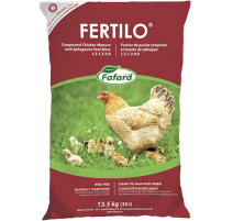 Fumier de poulet composté Fertilo (Bio) - 30L