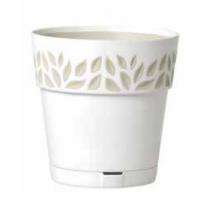 Pot orfeo Blanc 19 cm