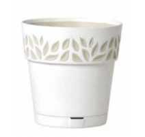 Pot orfeo Blanc 29 cm