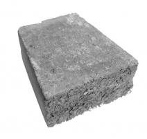 Muret Rustico Gris charbon nuancé