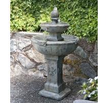 Fontaine coloniale américaine (pompe incl.) Couleur Ardoise Occidentale