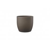 Pot basel pierre gris brun