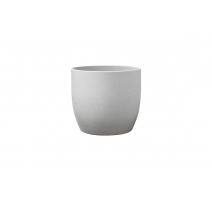 Pot basel pierre gris pâle