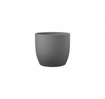 Pot basel pierre gris foncé